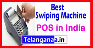 Best ATM / Debit / Credit Card Swiping Machine (POS) in India