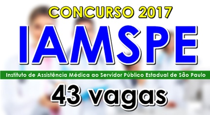 Concurso Iamspe SP 2017