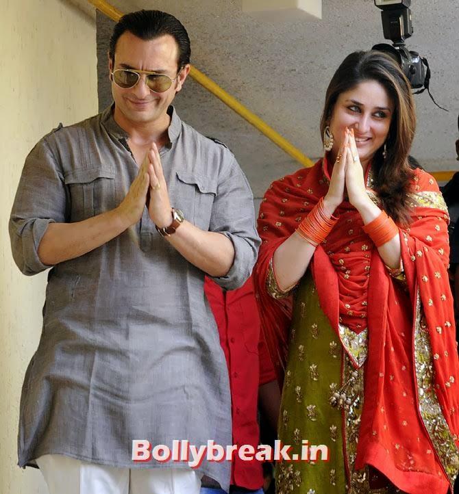 Saif Ali Khan and Kareena Kapoor Khan, The most stylish couples of 2013