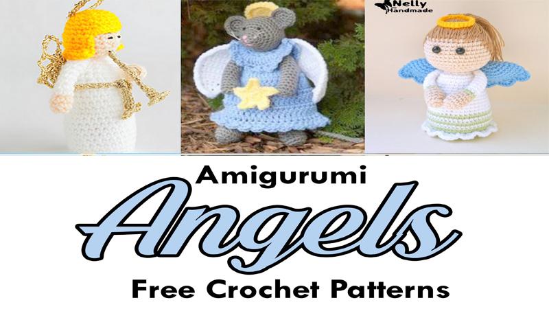 10 Free Crochet Angel Amigurumi Patterns - 99 Crochet | 450x800
