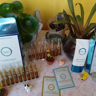 imagen de crema+ampollas del tratamiento facial ioox
