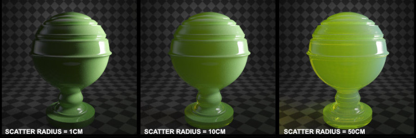 gach bong-scatter_radius1 Vật liệu V-Ray FastSSS2 (Phần 3)