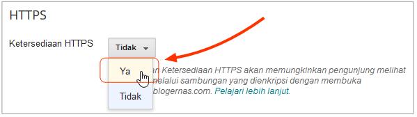 Cara Simple Mengganti HTTP Blog Menjadi HTTPS