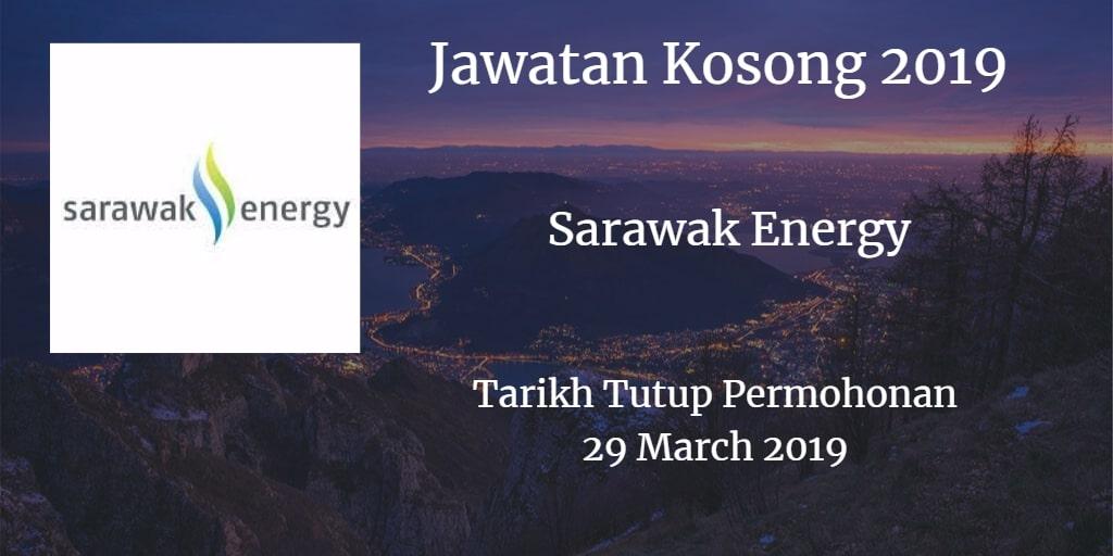 Jawatan Kosong Sarawak Energy 29 March 2019