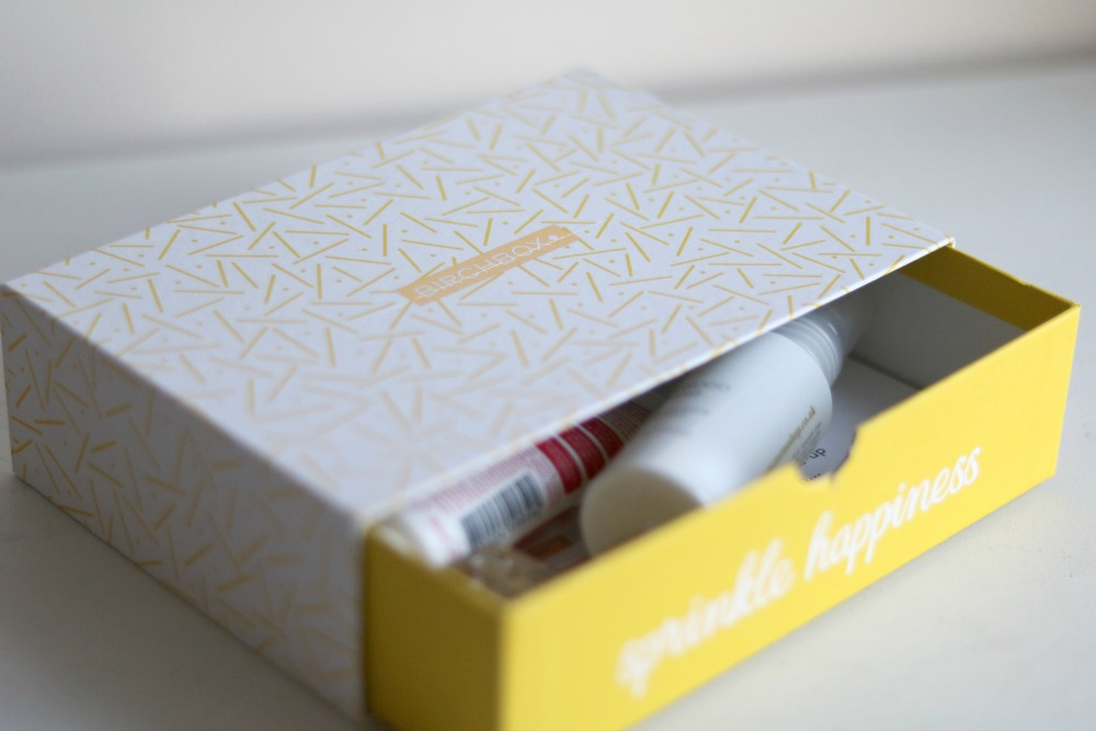sneak peek of january birchbox