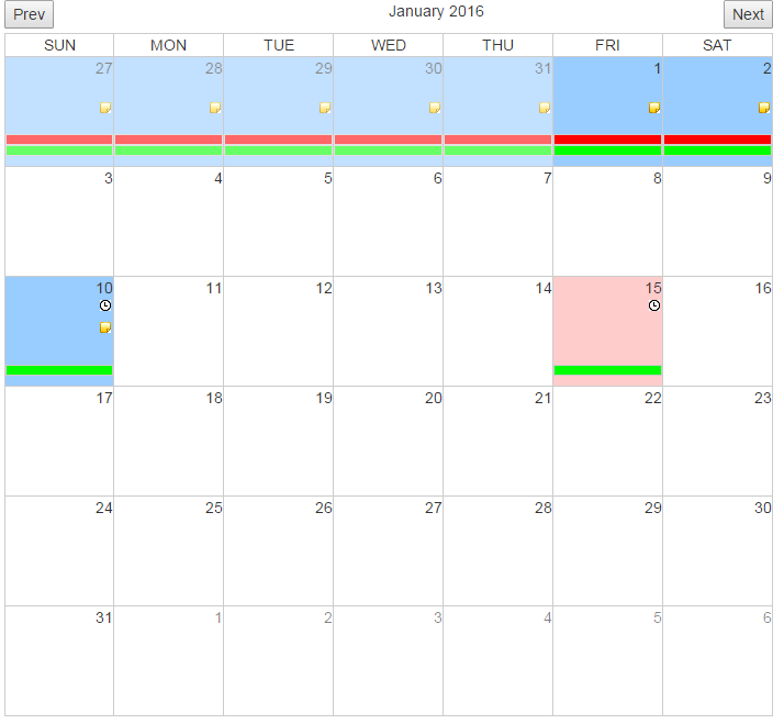 Java Redefined: jQuery Calendar Plugin with events