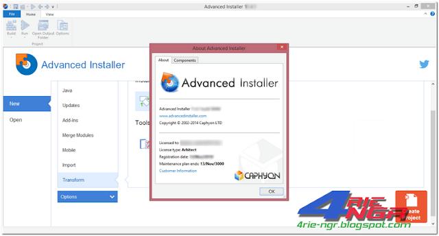 Advanced Installer Architect 13.7 Build 75982 Full Version