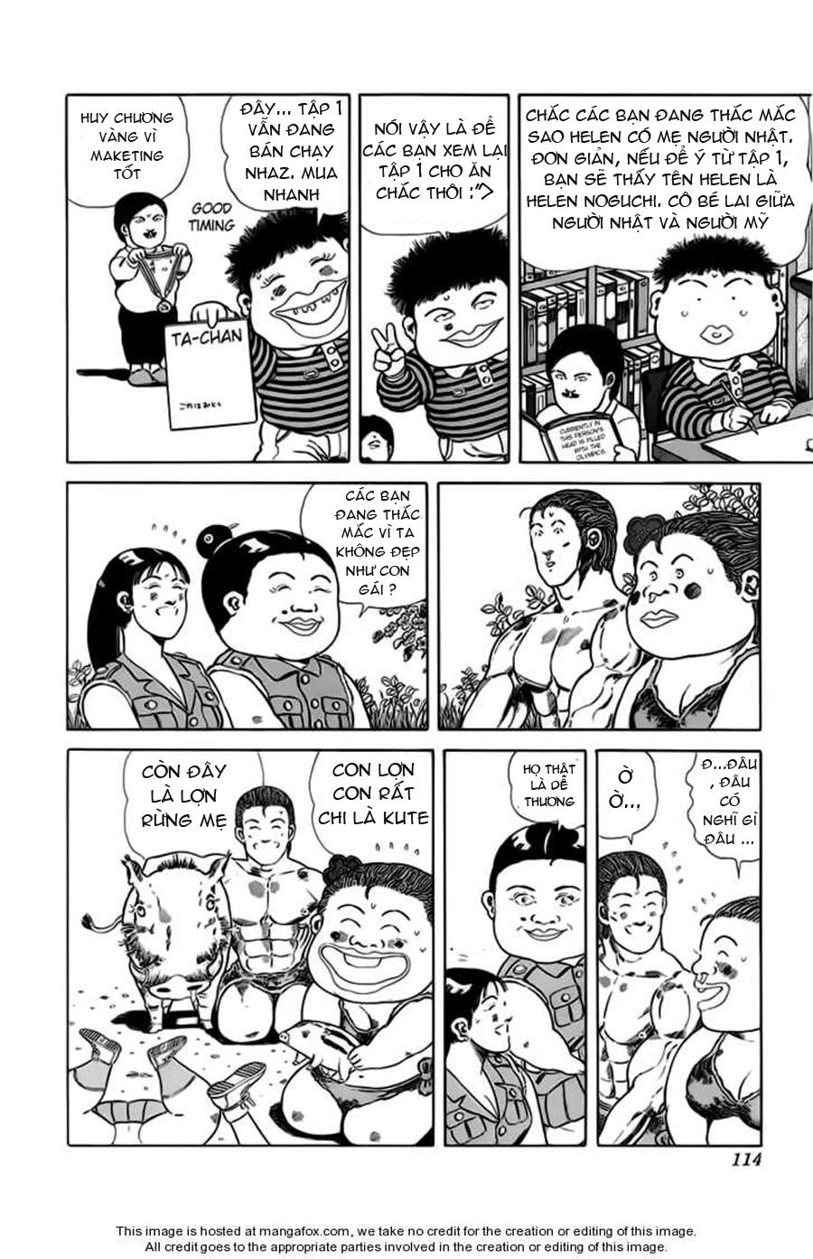 Chúa rừng Ta-chan chapter 31 trang 4