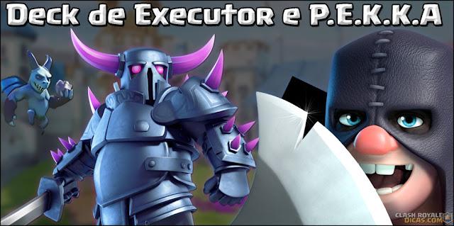 Deck de Executor com Fornalha para Arena 9+