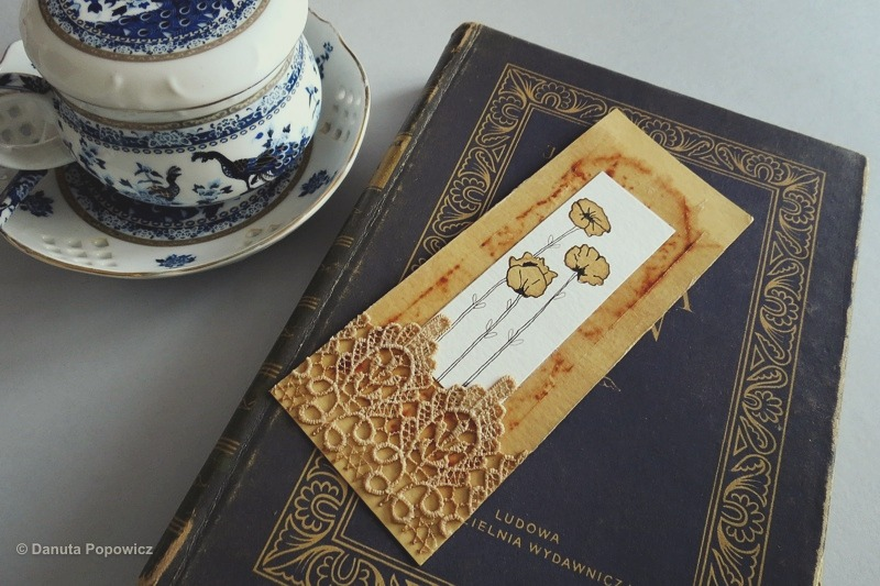 Herbaciane zakładki  do książek
