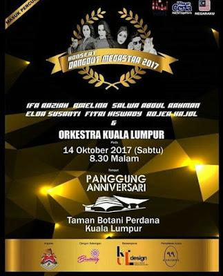 Persatuan Bintang Dangdut Malaysia Bakal Membuat Konsert Dangdut Megastar 2017