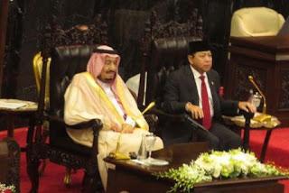 Isi Pidato Raja Arab Saudi Salman bin Abdulaziz Al-Saud di Gedung DPR/MPR