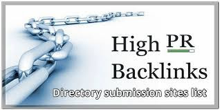 directory submission web sites to get backlinks