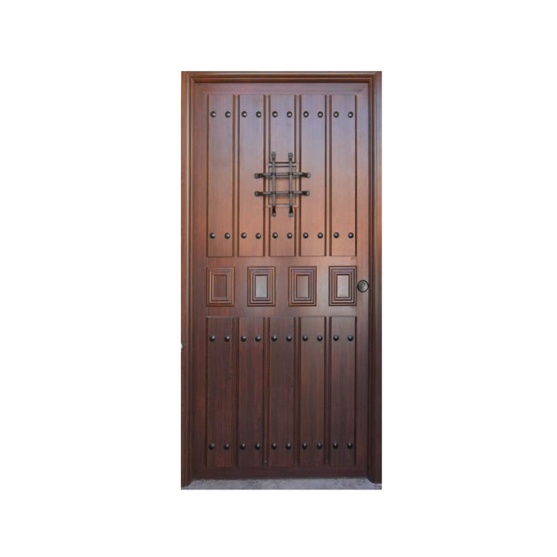 Modelos de puerta r stica - Modelos de puertas de aluminio para exterior ...