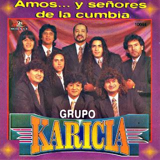 grupo karicia Amos y señores de la cumbia