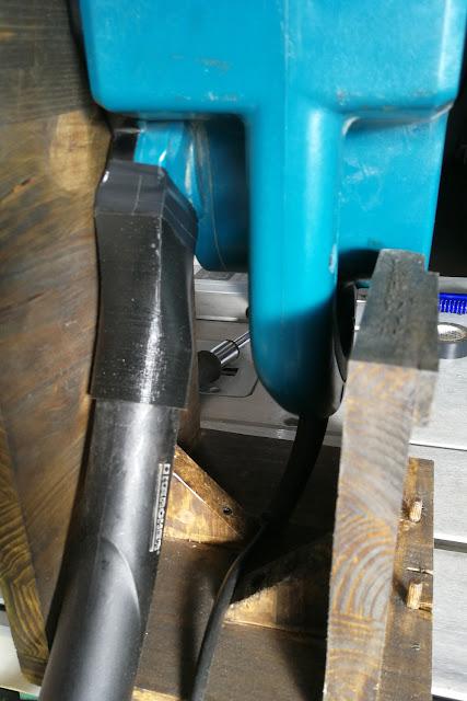 raccordo per aspiratore levigatrice bosh in pla abs stampa 3d