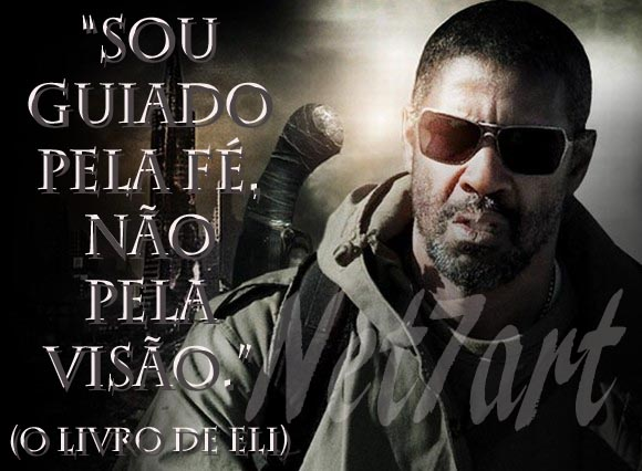 O Livro de Eli (The Book of Eli). Com Denzel Washington e