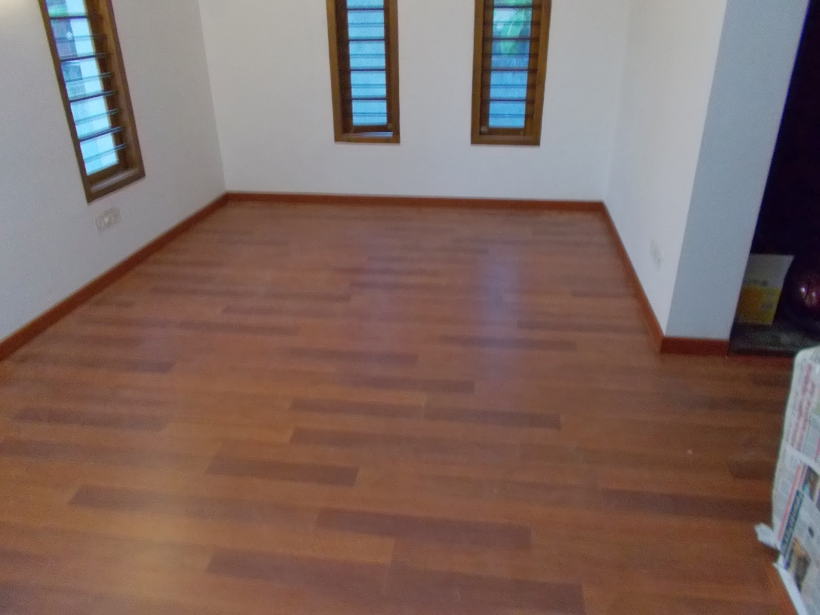 LAMINATED WOODEN FLOORING   MERBAU WOODEN FLOORING AT KOLLAM IN     LAMINATED WOODEN FLOORING   MERBAU WOODEN FLOORING AT KOLLAM IN KERALA
