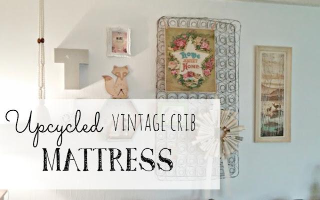 vintage baby crib mattress