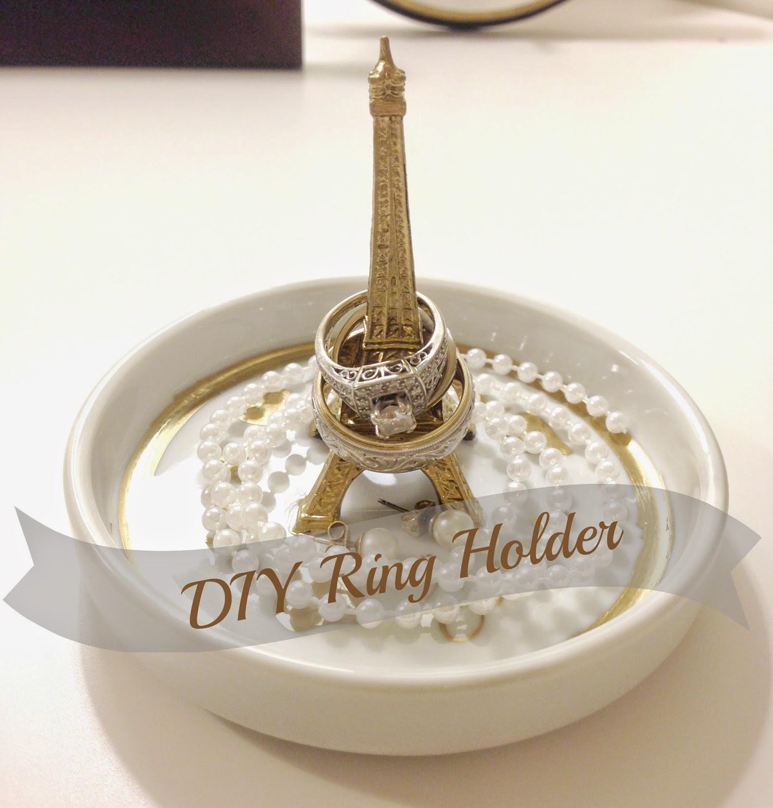 A Little Bolt of Life: DIY Ring Holder