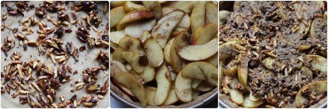 Diary of a Mad Hausfrau: Apple Cardamom Cake with Caramelized Almonds