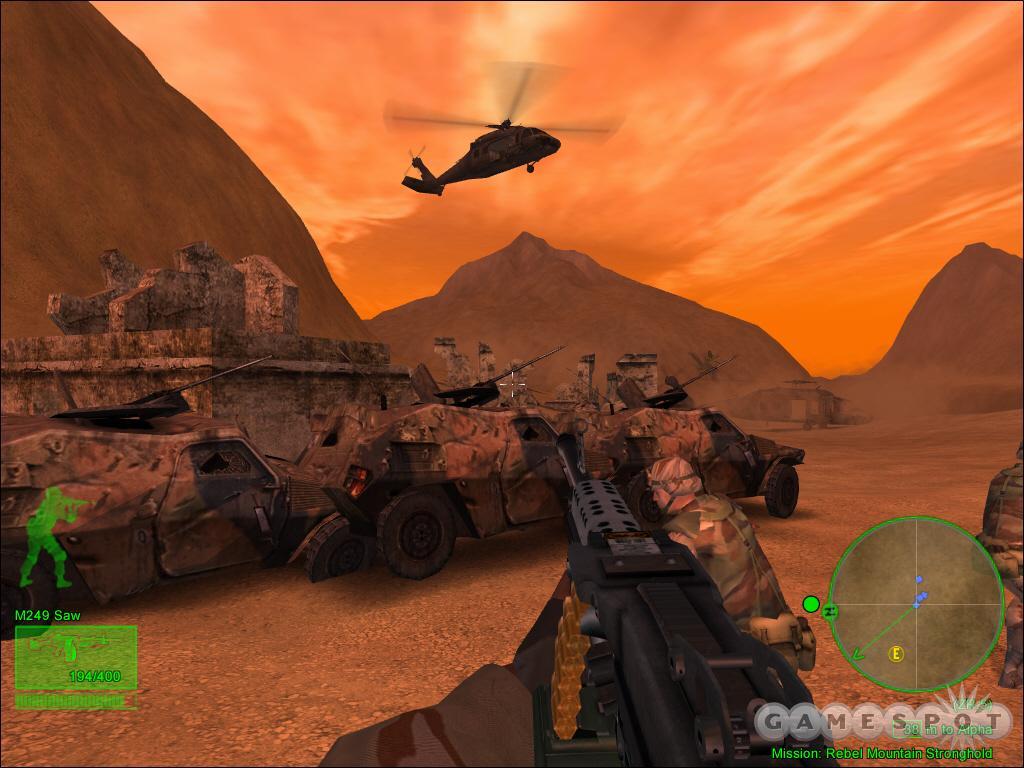 Black Hawk Down Team Sabre Game