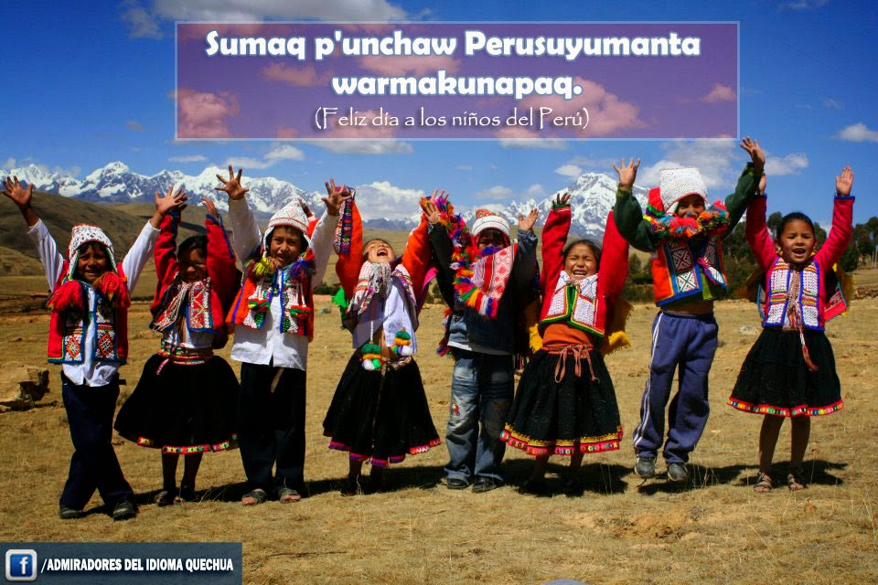 Admiradores Del Idioma Quechua Fotos Lindos Afiches Con
