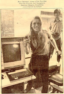 Bruce Baumgart, ganador del Intergalactic Spacewar Olympics
