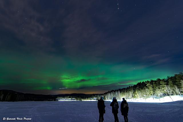 Aurora sobre Sognsvann - Oslo, Noruega por El Guisante Verde Project