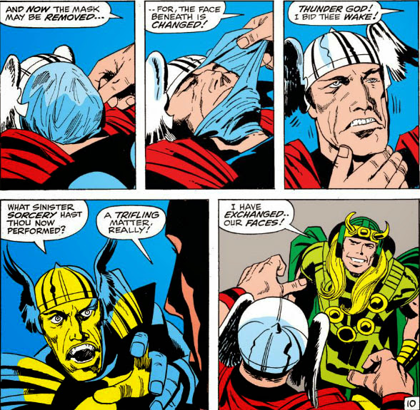 The Peerless Power of Comics!: The Freaky Friday of Thor and