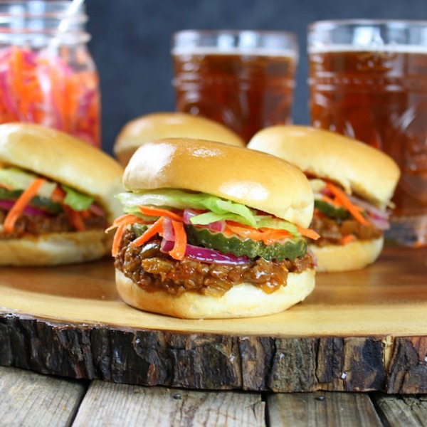 Asian Style Sloppy Joes from Taste and See