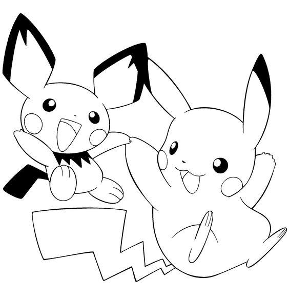 Tranh tô màu Pokemon 84