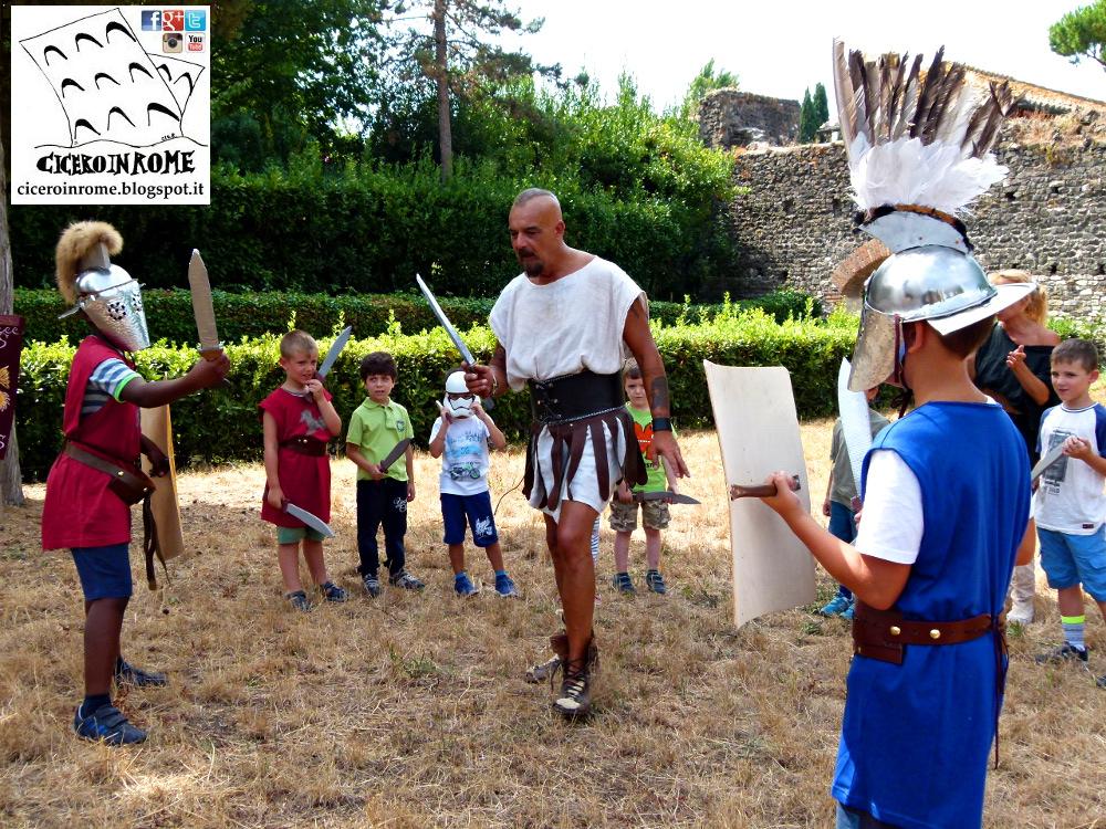 Per Bambini: La Scuola dei Gladiatori