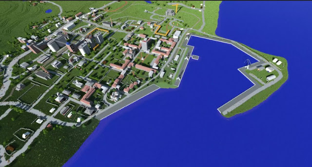 Minecraft Is Recreated In The Chernarus Map Found On Arma 2 and DayZ beautifully Map