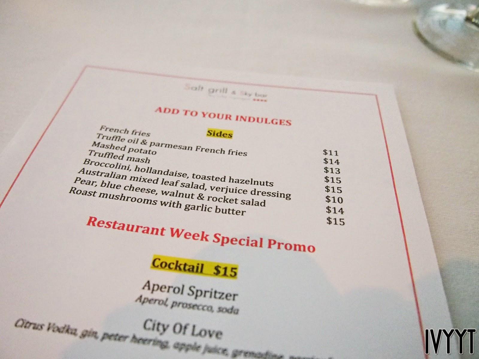Dish Bar And Grill Restaurant Week