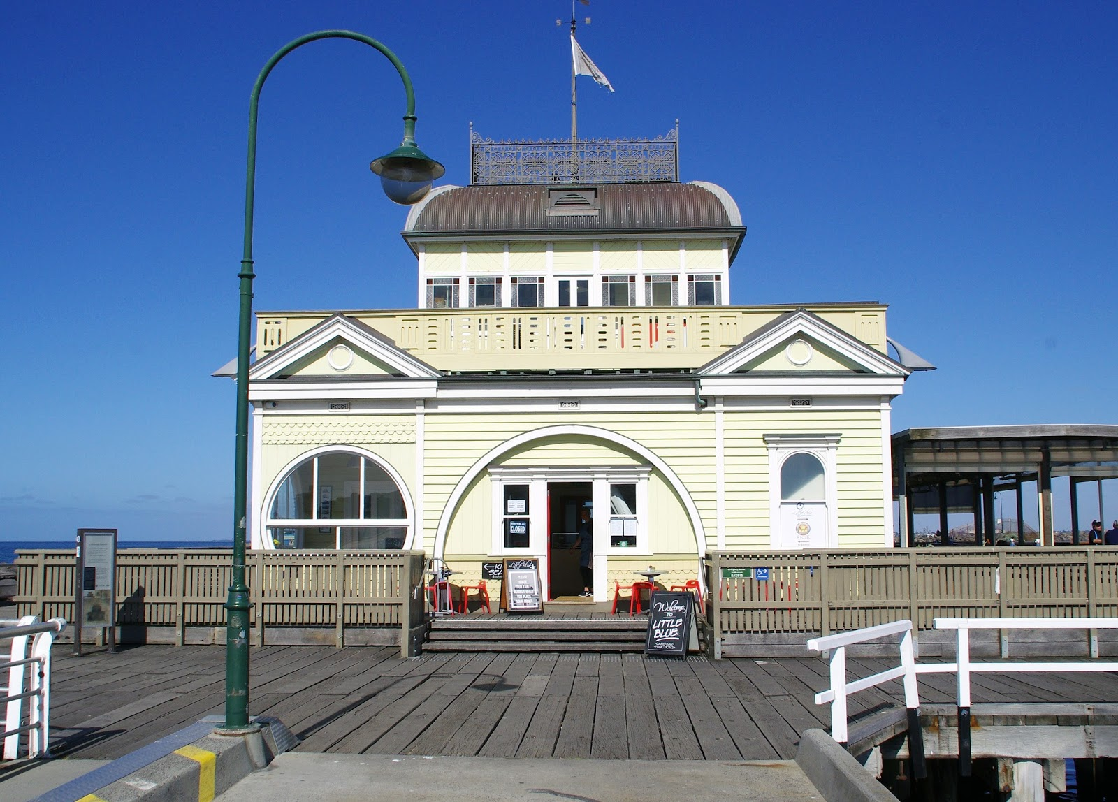 Pavillion on St Kilda Pier Melbourne