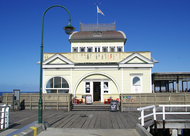 Pavillion on St Kilda Pier Melbourne