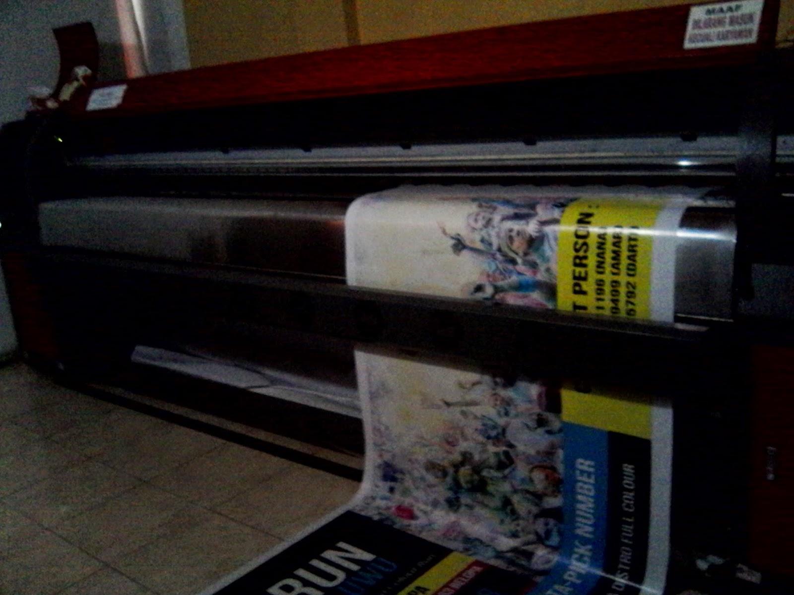 mesin digital print reklame baliho banner di belopa utara luwu