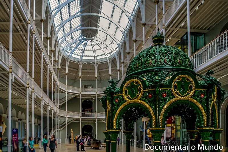 National Museums of Scotland; Museus gratuitos em Edimburgo