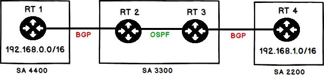 Différence entre OSPF et BGP