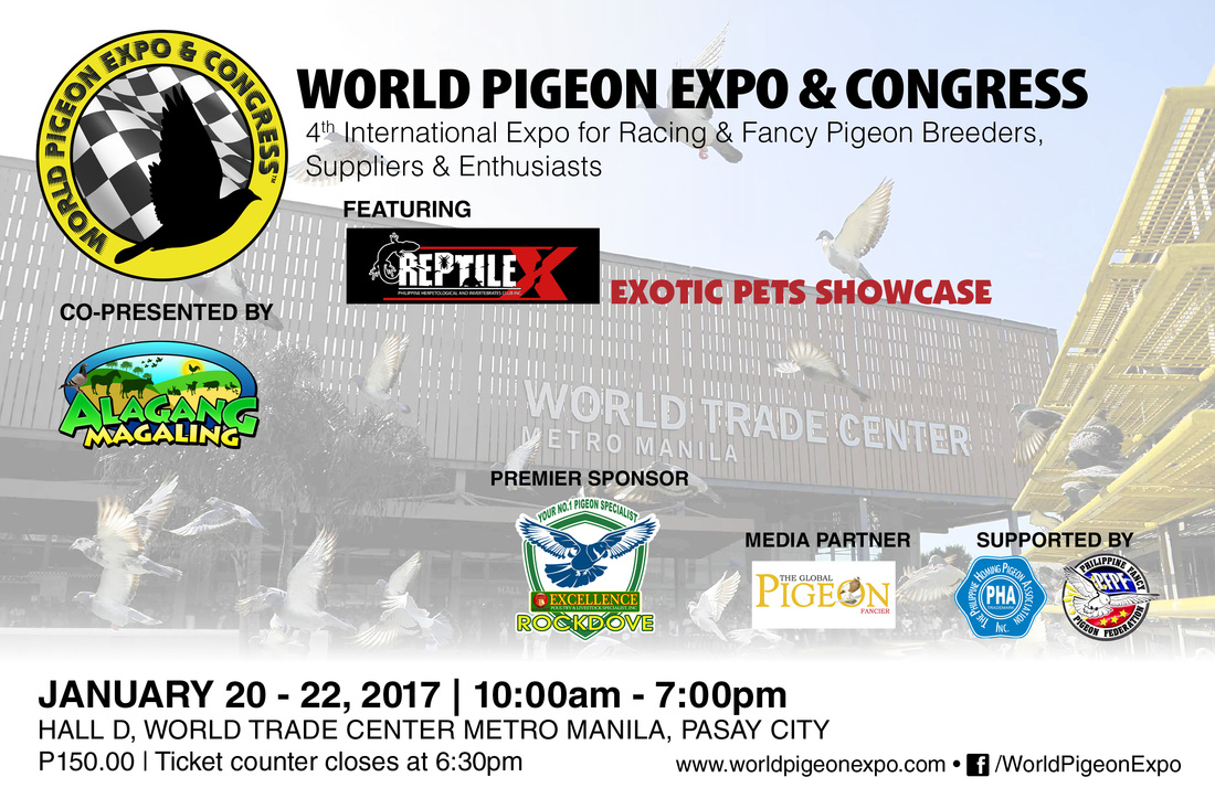 Watch and See Reptile X 2017 at Pigeon and Gamefowl Expo