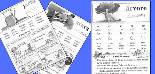 Textos para imprimir - Cartilha Alegria do Saber