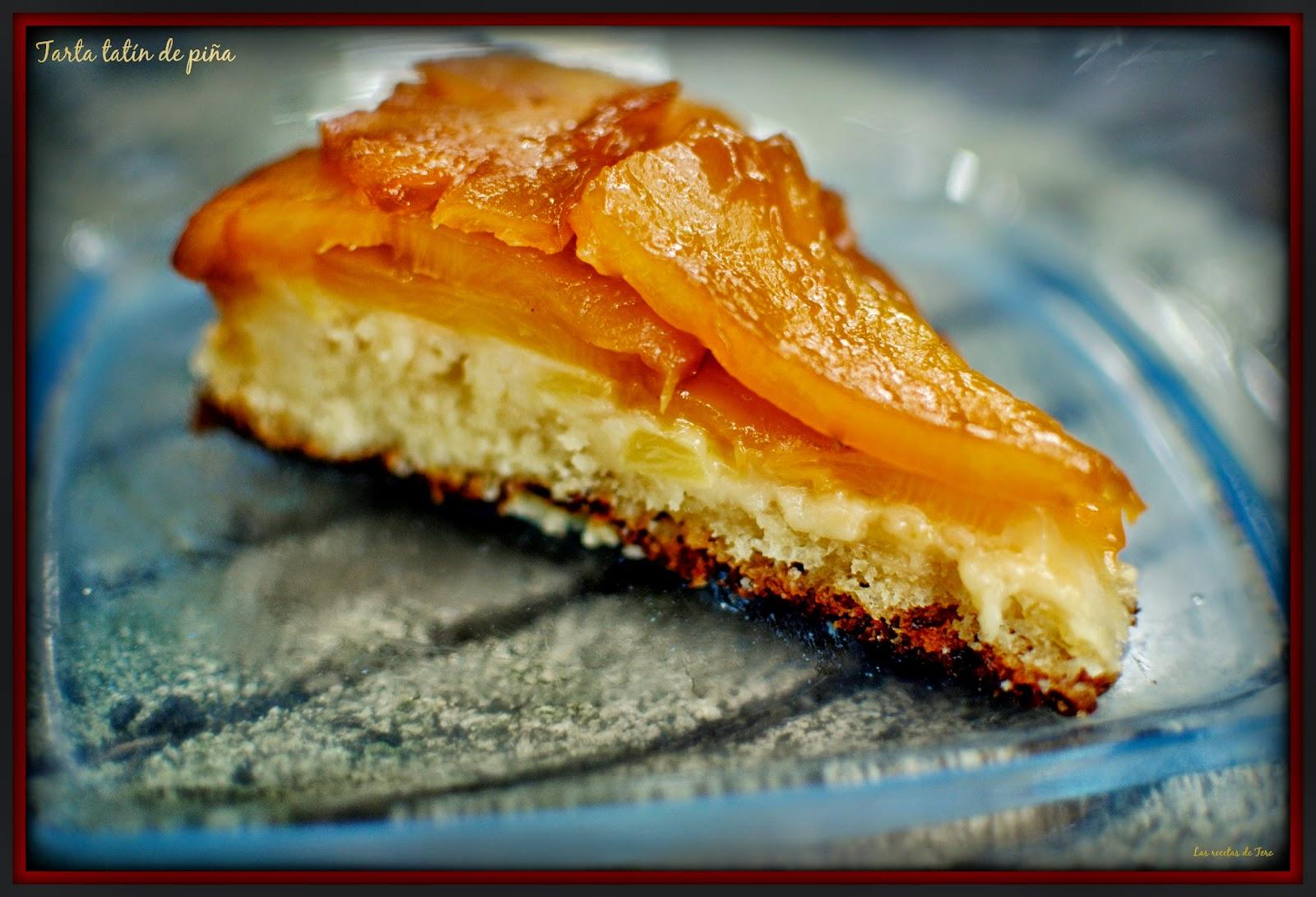 tarta tatín de piña tererecetas 07