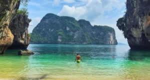 Ilha Ko Lao Lading - Arquipélago Krabi, Tailândia