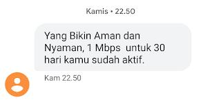 Pengalaman Beli Kartu Perdana Internet By.U di Kirim ke Kalimantan