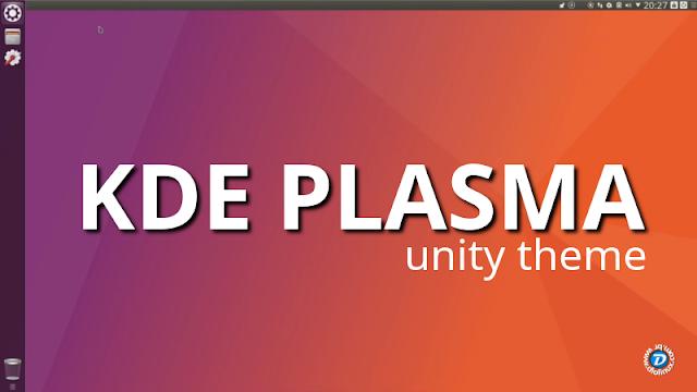 KDE Plasma Unity Theme