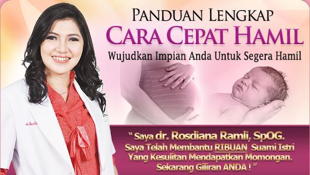 Drs. Rosdiana Ramli juga menulis Buku Panduan Lengkap Hamil