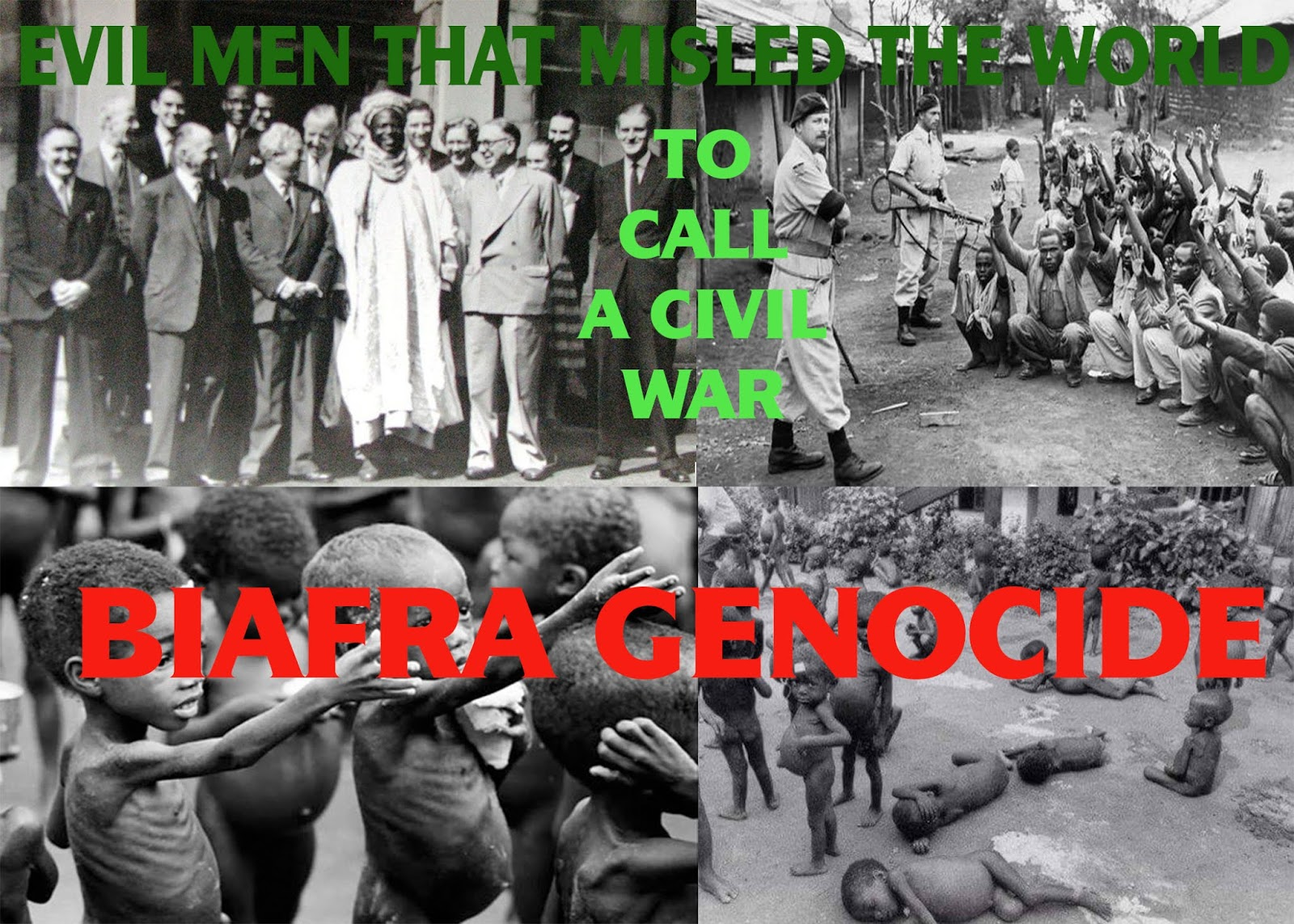 UNENDING GENOCIDE AGAINST THE INDIGENOUS PEOPLE OF BIAFRA BY