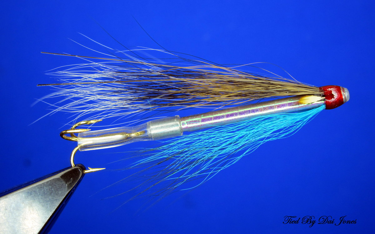 Squirrel And Blue Sea Trout//Salmon//Sewin Snake Fly Set Of 3