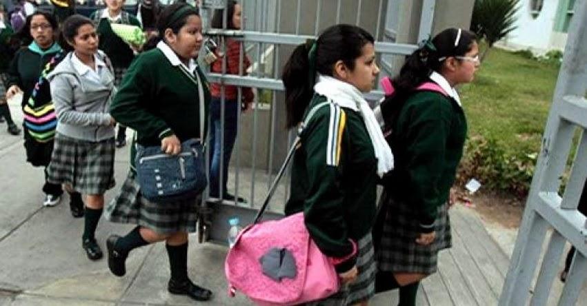 MINEDU suspende clases en Lima Metropolitana hasta Lunes 20 de Marzo - www.minedu.gob.pe